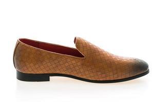 chaussure en cuir marron photo