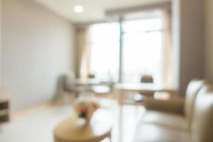 Intérieur de salon abstrait défocalisé photo