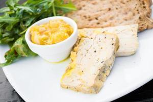foie gras au pain