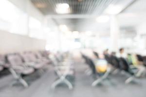Résumé de l'intérieur de l'aéroport défocalisé pour le fond photo