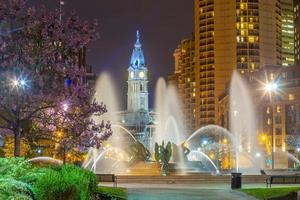 Paysage urbain du centre-ville de skyline de Philadelphie en Pennsylvanie