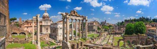 forum romain à rome photo
