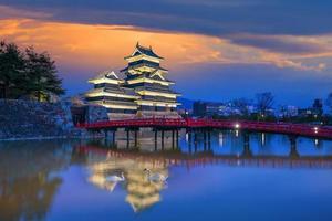 Château de Matsumoto au Japon photo