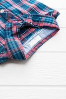 chemise tartan ou à carreaux photo