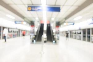 station de métro flou abstrait photo