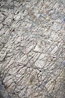 surface rainurée de calcaire gris photo