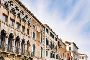 2017 Venise, Italie - Routes touristiques des vieilles rues de Venise en Italie photo
