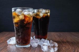 deux verres de soda photo