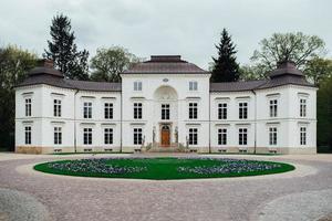 Varsovie, Pologne 2017- ancien palais et ensemble de parc de Lazienki à Varsovie photo