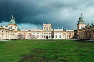 Varsovie, Pologne 2017- ancien palais antique wilanow à Varsovie photo