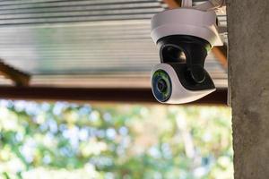 caméra de sécurité sur le bâtiment