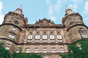 swiebodzice, pologne 2017- château ksiaz à swiebodzice pologne photo