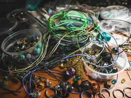 perles pour faire des bijoux à la maison photo