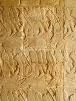 Siem Reap, Cambodge, 2021 - reliefs d'Angkor Wat photo