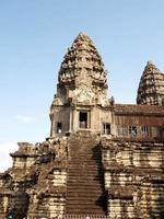 Siem Reap, Cambodge, 2021 ruines de l'Angkor Wat photo