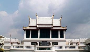 Bangkok, Thaïlande, 2021 - vue sur le Wat Phra Kaew photo