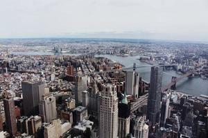 vue sur les toits de new york, usa photo