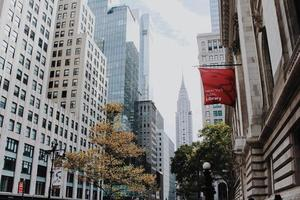Le Chrysler Building à New York, USA photo