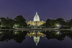 Le bâtiment du Capitole des États-Unis, Washington DC, USA photo