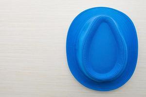 chapeau de mode coloré isolé photo