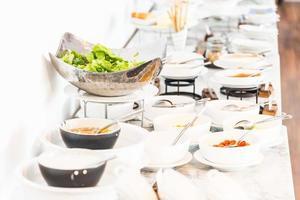 restauration buffet