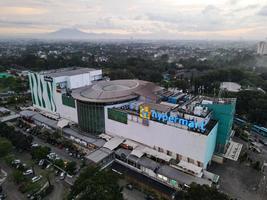Jakarta, Indonésie 2021- vue aérienne d'Hypermart, le plus grand centre commercial de Jakarta photo