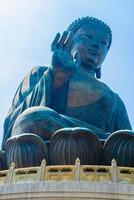 Statue de Bouddha géant à Hong Kong, Chine photo