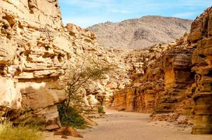vallée dans un canyon photo