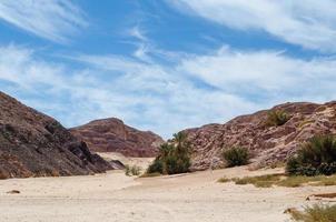 collines rocheuses brunes photo