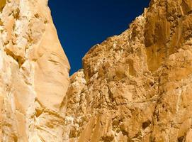 rocher et ciel photo