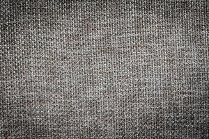 Texture de toile de coton tissu gris et noir photo
