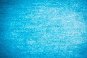 texture de coton bleu photo