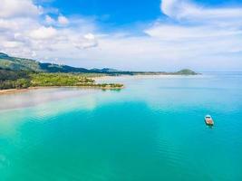 Vue aérienne de l'île de Koh Samui, Thaïlande