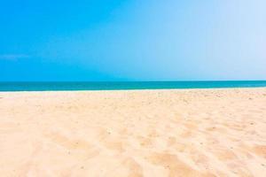 sable sur la plage