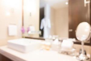 salle de bain flou abstrait
