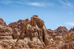 montagnes rocheuses brunes photo
