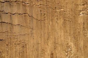 texture de fond de la surface lisse du sable photo