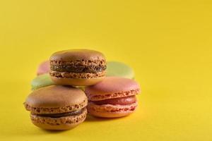 groupe de desserts macaron photo