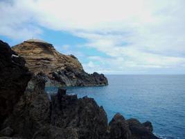 vue sur la côte de madère photo