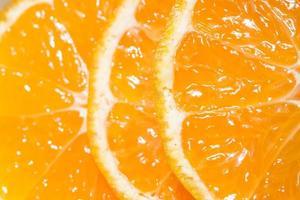 gros plan d'un fruit orange photo