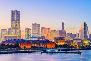 Toits de la ville de Yokohama, Japon