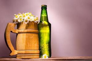 marguerites et bière photo