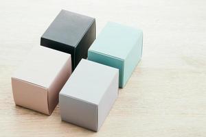 maquette de boîte de papier