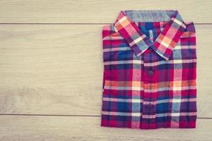 belle chemise de mode pour hommes photo