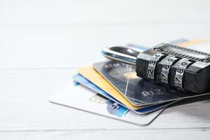 cadenas sur les cartes de crédit