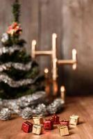 arbre décoratif de Noël photo