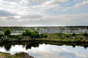 canal de granit industriel inondé photo