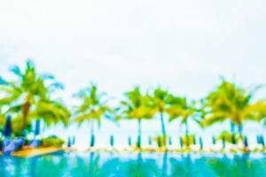 piscine de flou abstrait