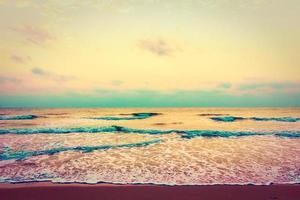 vintage mer et plage
