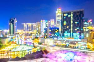 fond de ville de singapour abstrait défocalisé